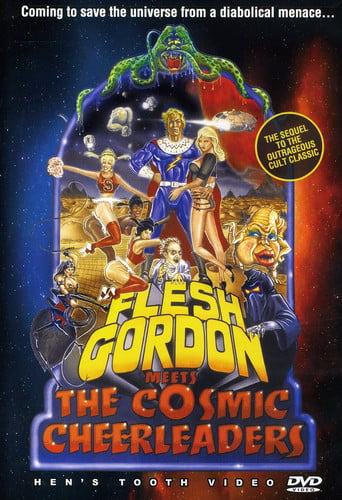 Flesh Gordon Meets the Cosmic Cheerleaders by HENS TOOTH VIDEO