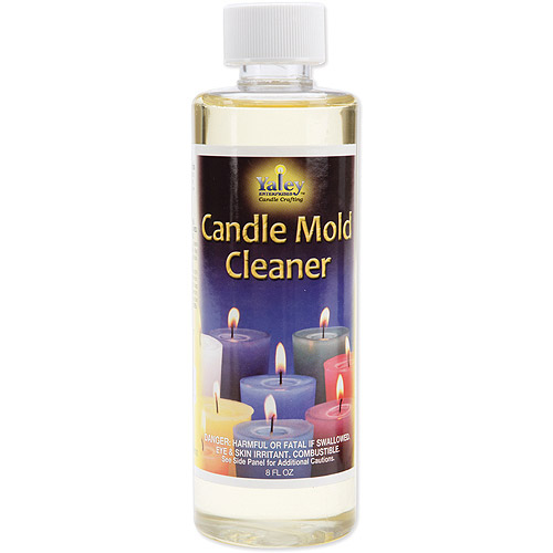 Candle Mold Cleaner & Wax Remover 8 Ounce Bottle
