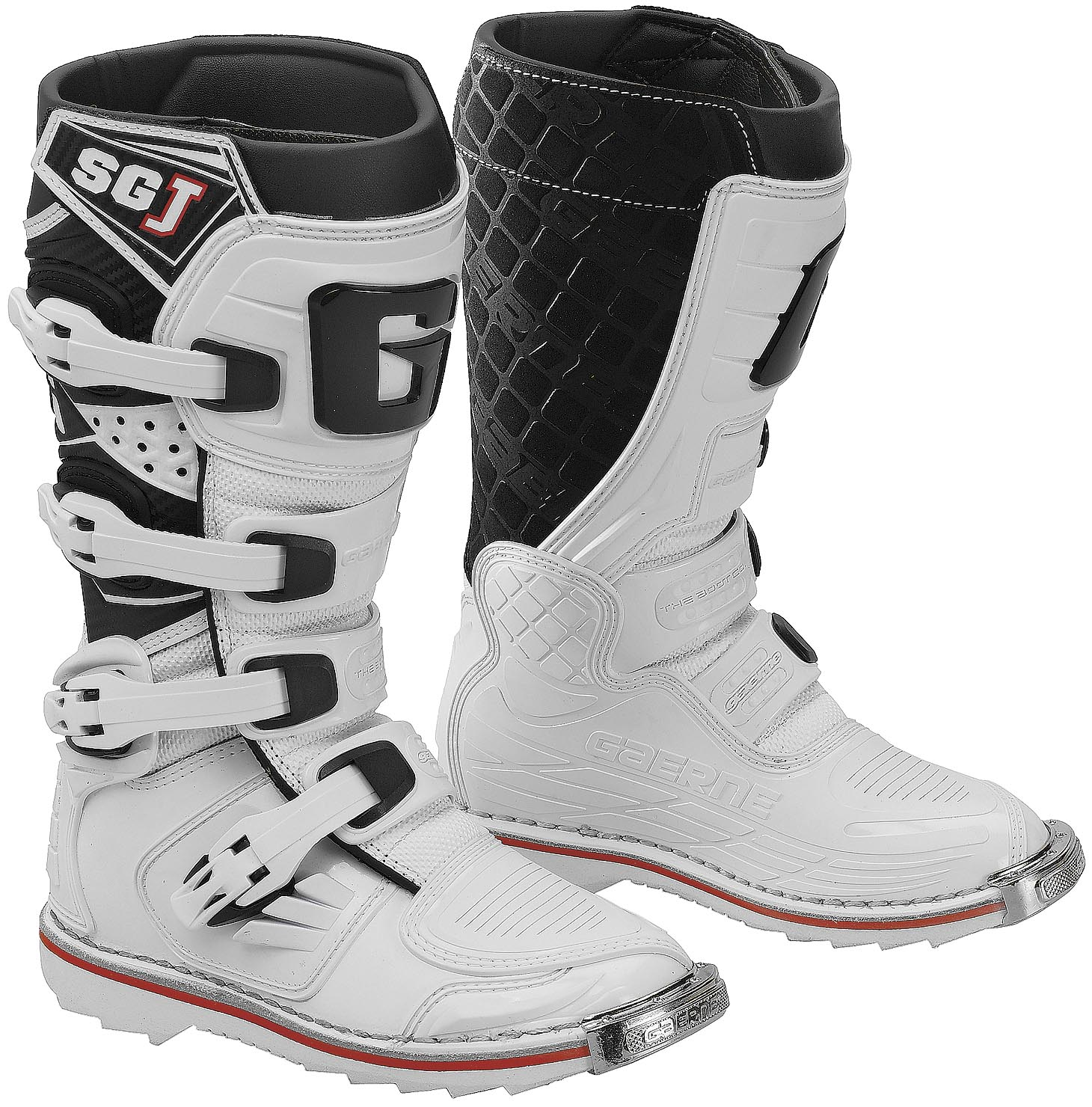 Gaerne SG-J Youth Boots (White, 3)