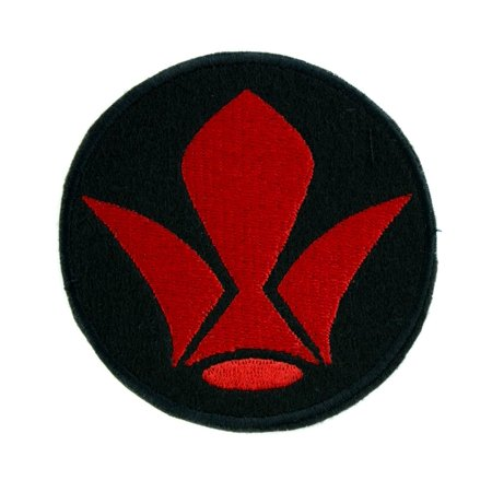 Tekkadan Iron-Blooded Orphans Patch Iron on Applique Anime Clothing Mobile Suit (Mobile Suit Gundam Iron Blooded Orphans Atra)