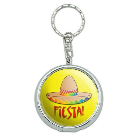 Fiesta Sombrero Mexican Cinco de Mayo Portable Ashtray Keychain - Fiestas De Halloween Madrid