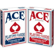Ace Poker Playing Cards, Assorted Colors by CARTAMUNDI