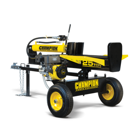 Champion 100251 25-Ton Horizontal/Vertical Full Beam Gas Log Splitter with Auto Return ()