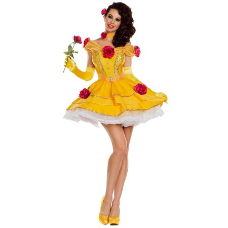 Belle Of The Ball Costume (Belle's Yellow Ball Gown Costume)