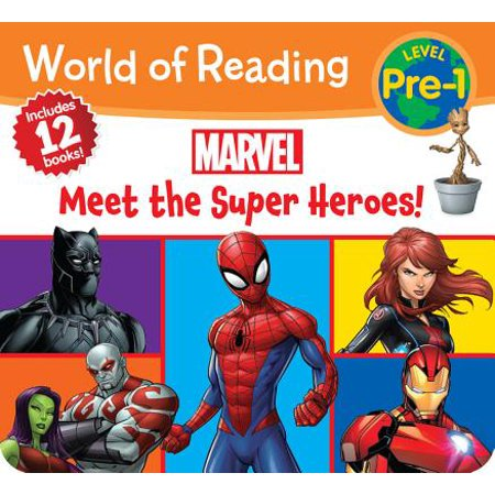 World of Reading Marvel Meet the Super Heroes! (Pre-Level 1 Boxed Set) (All The Superheroes)