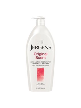 Jergens Original Scent Dry Skin Lotion with Cherry Almond Essence