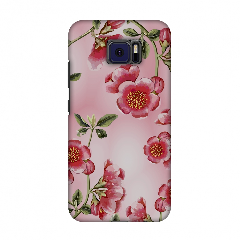 Asus ZenFone V V520KL Case - Watercolour anemone flower- Blush pink, Hard Plastic Back Cover, Slim Profile Cute Printed Designer Snap on Case with Screen Cleaning Kit