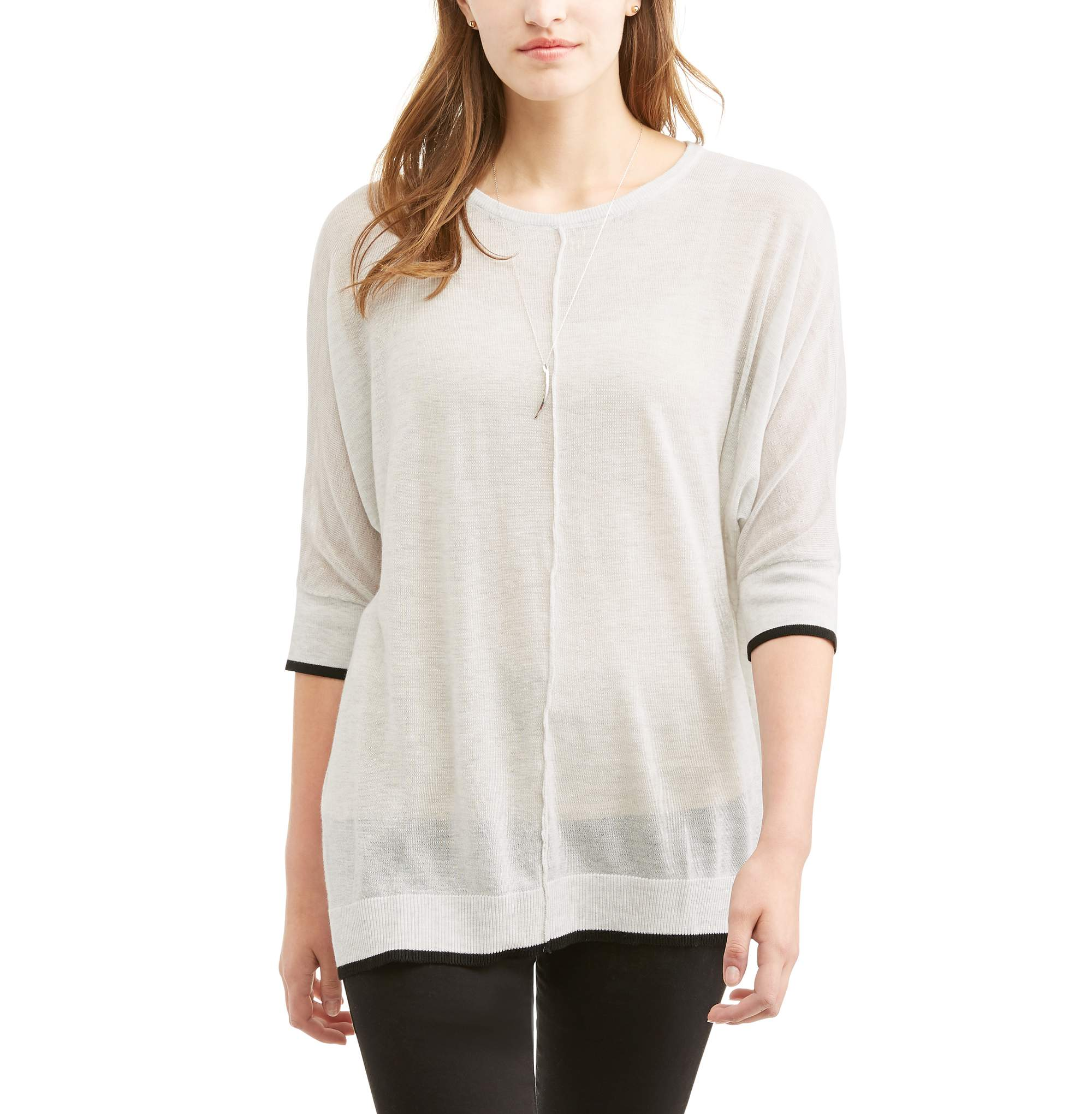 Thyme & Honey Women's Lightweight Tunic Sweater - Walmart.com