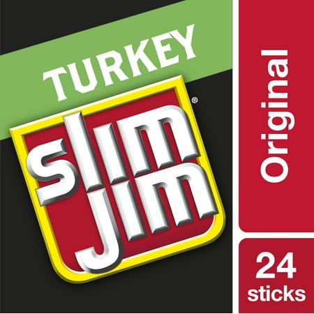 Slim Jim Giant turkey smoked meat stick original .97 oz. -
