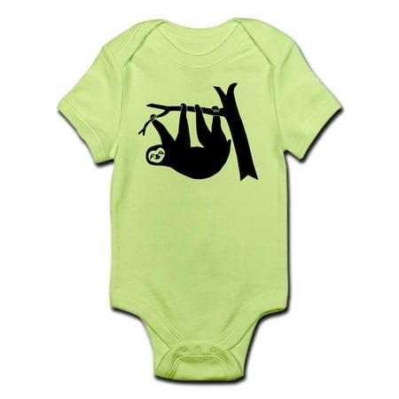 e969ec7c7 CafePress - CafePress - Sloth Lazy Cute Animal Freeclimber Climbing Infant  - Baby Light Bodysuit - Walmart.com