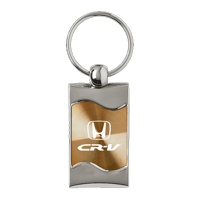 fab1593edc2d Product Image Au-TOMOTIVE GOLD CRV Rectangular Wave Gold Key Fob