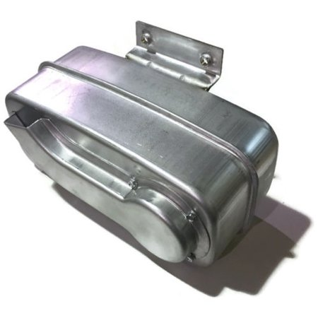 Husqvarna Single Engine Muffler for RZ4619, RZ5424, YTH20K46 & More Lawn Mowers / 532188655, 188655 532188655 Husqvarna Muffler Single Cylinder KOHL/B&S