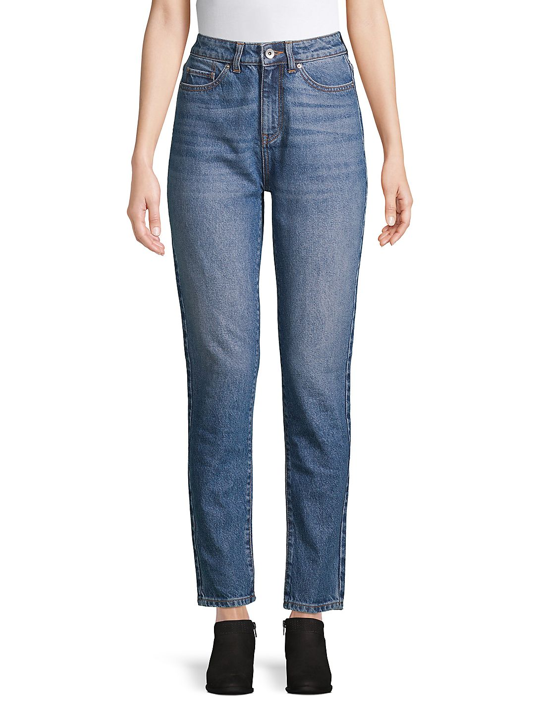 High-Rise Denim Jeans