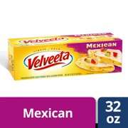 Velveeta Block, Mexican Mild Cheese, 32 oz Box