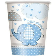 Blue Elephant Baby Shower Paper Party Cups, 9 oz, 8ct