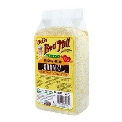 Bobs Red Mill BG11061 Bobs Red Mill Med Cornmeal - 1x25LB