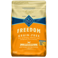 Blue Buffalo Freedom Grain Free Natural Indoor Weight Control Adult Dry Cat Food, Chicken, 11-lb.