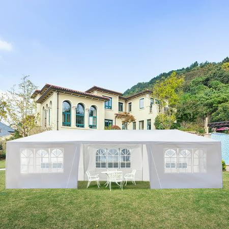 Ktaxon 7  Walls 10' x 30' Canopy Party Outdoor Wedding Tent Gazebo Pavilion garden Tent (Single Wall Tent)