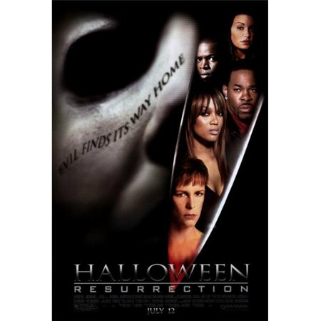 Pop Culture Graphics MOVCF6410 Halloween - Resurrection Movie Poster Print, 27 x 40 - 2017 Pop Culture Halloween
