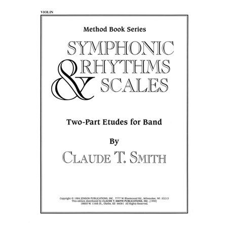 Rock Bands Violin (Hal Leonard Symphonic Rhythms & Scales (Two-Part Etudes for Band and Orchestra Violin) Concert Band Level 2-4)