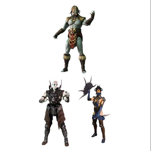 "Mezco Toyz Mortal Kombat X Series 2: 6"" Action Figure Set..."