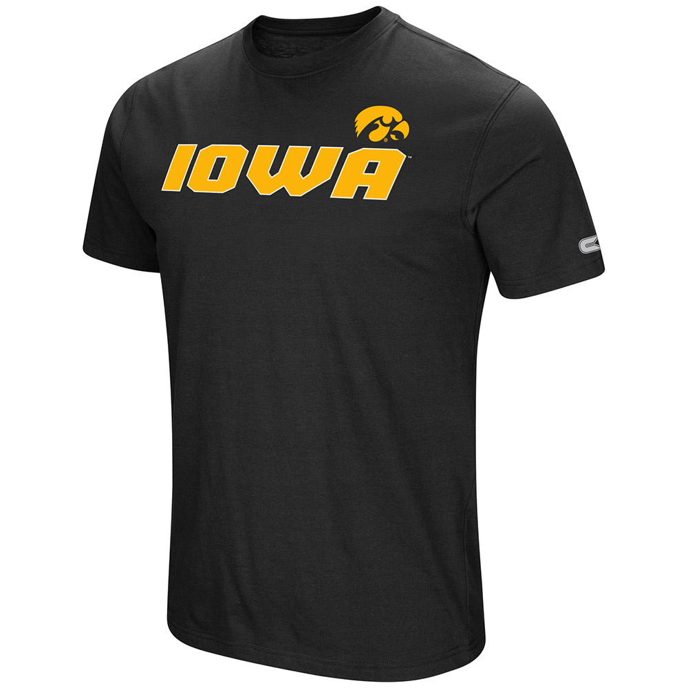 "Iowa Hawkeyes NCAA ""Water Boy"" Men's Dual Blend S/S T-Shirt"