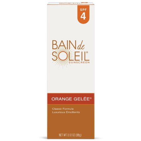 bain de soleil orange gel e spf 4 sunscreen oz box. Black Bedroom Furniture Sets. Home Design Ideas