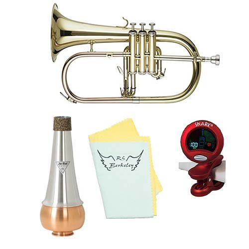 Band Directors Choice Bb Student Flugelhorn w/Essentials Kit