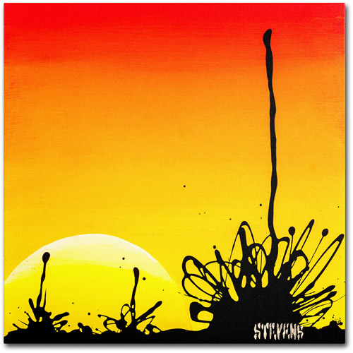"Trademark Fine Art ""Century Sunset"" Canvas Art by Roderick Stevens"