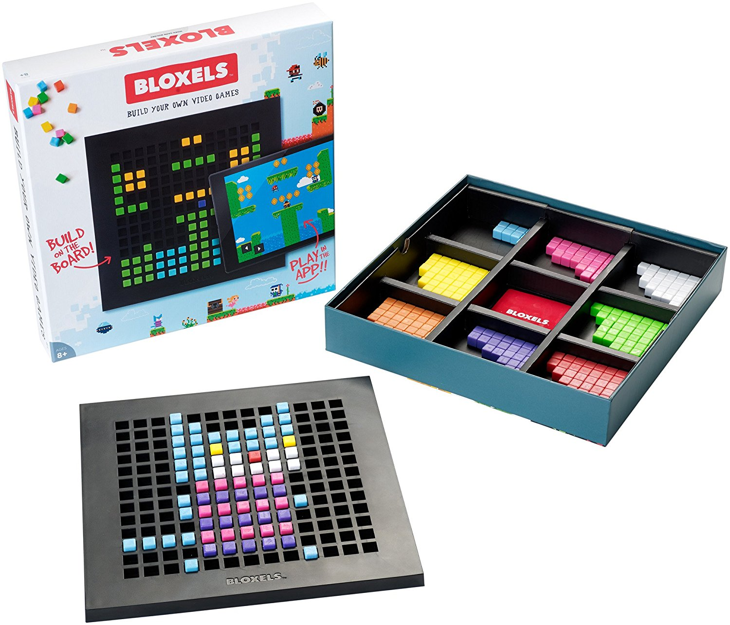 Bloxels: Build Your Own Video Game, Fast shipping,Brand Mattel by