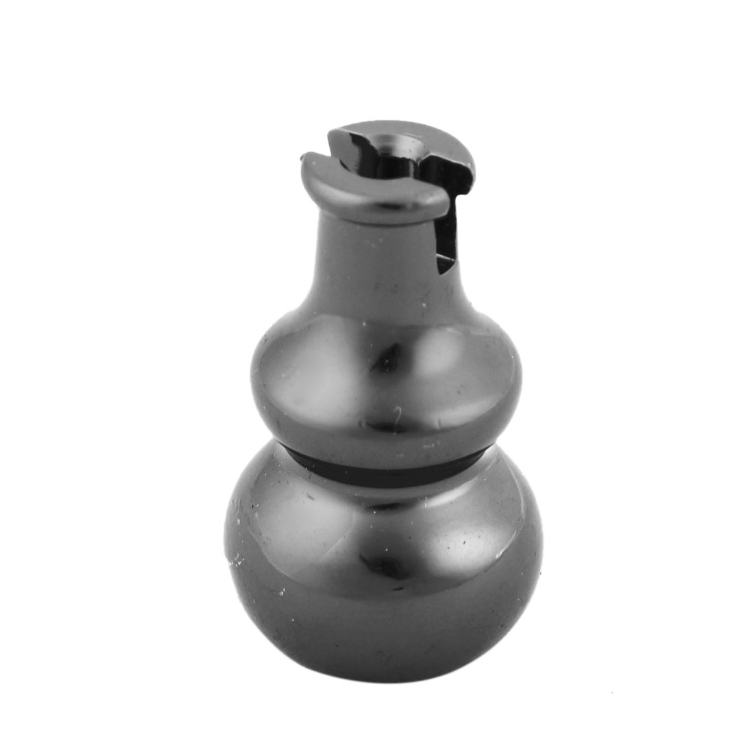 Temple Home Black Metal Gourd Shaped Magnetic Stand Incense Holder Container - image 4 of 4