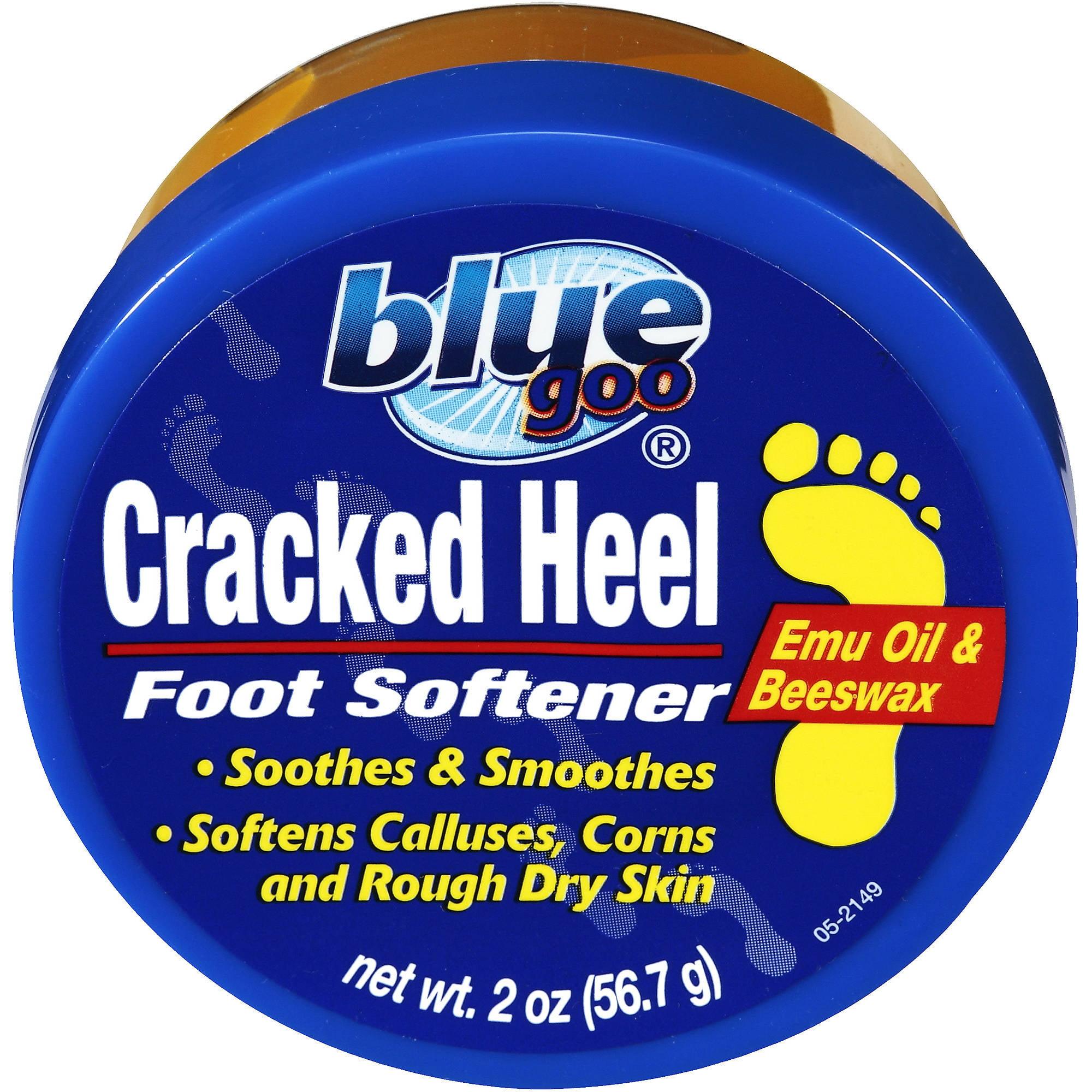 Blue Goo Cracked Heel Foot Softener, 2 oz 70166