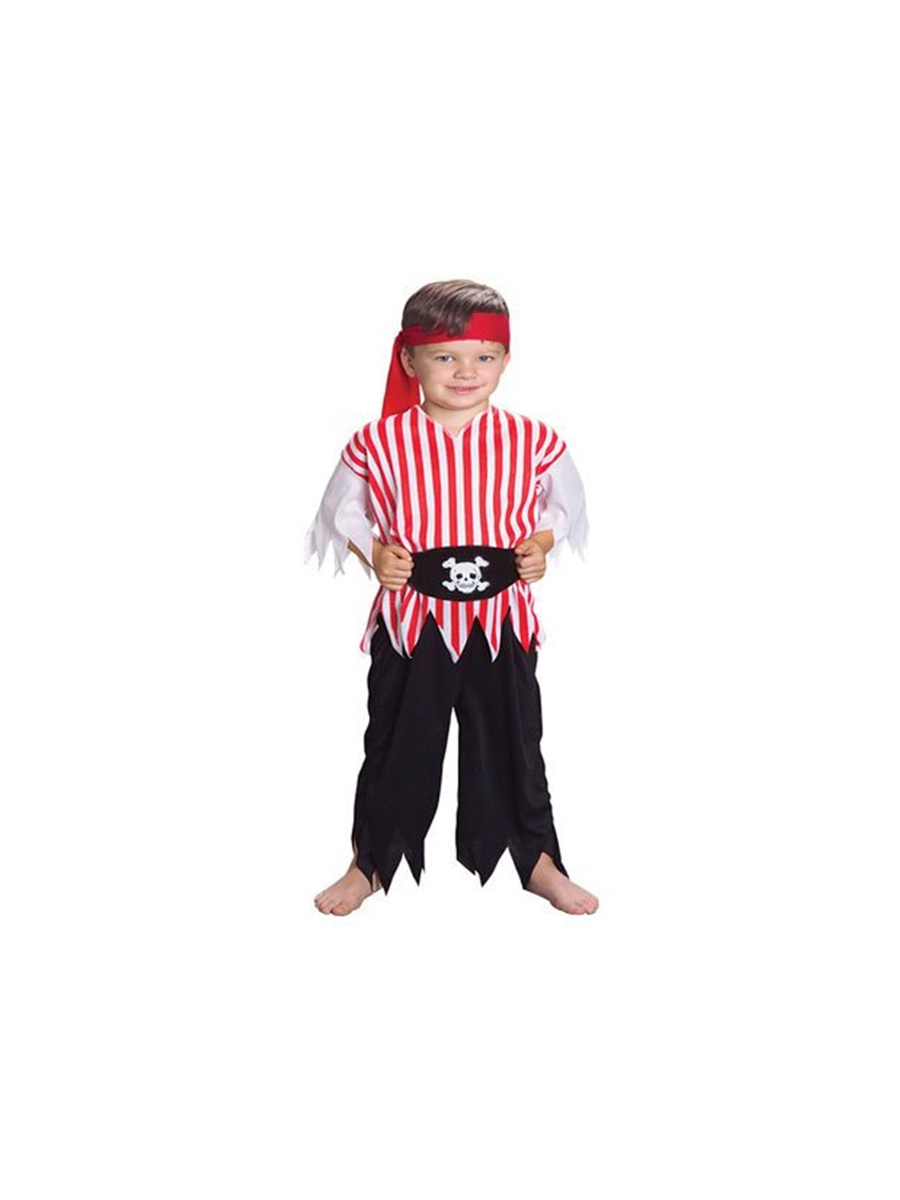 Childs Boy's Buccaneer Pirate Swashbuckler Costume Set by US Toy