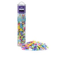 Plus-Plus - 240 Piece Pastel Color Mix Building Set Play Tube