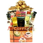 Caffeine Please! Gourmet Coffee and Snacks Gift Basket