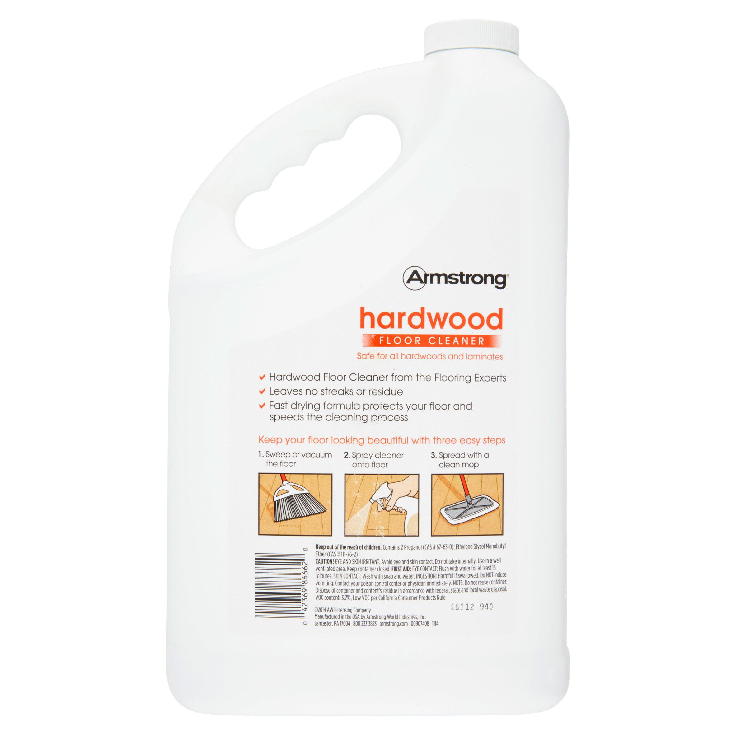 Armstrong Hardwood Citrus Fusion Floor Cleaner Refill, 128 Fl Oz    Walmart.com