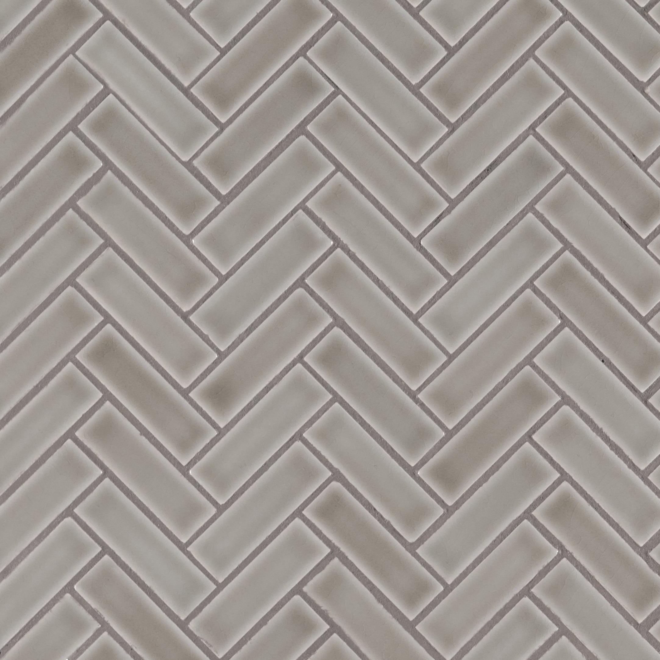 Msi Dove Gray Herringbone 11 3 In X 12