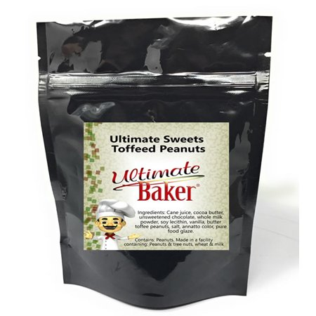 Ultimate Sweets Chocolate Toffee Peanuts (1x1lb) (Sweets Halloween Toffee Apples)