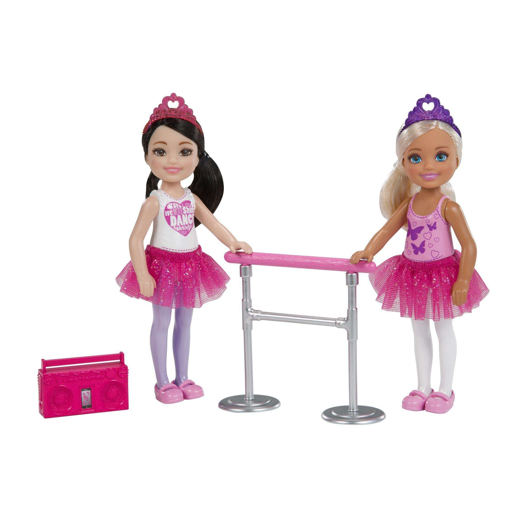 Barbie Club Chelsea Dance Playset with 2 Chelsea Dolls