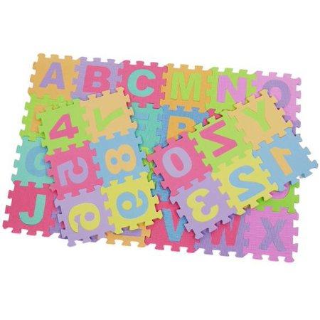 Alphabet Amp Numbers Soft Foam Play Puzzle Mats Children
