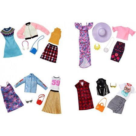 Barbie Fashion with 2 Outfits and Accessories (Styles May (Barbie Fashion Clothing)