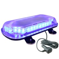 LAMPHUS SolarBlast 34W LED Volunteer Firefighter Personal Vehicle Warning Mini Light Bars ( OTHER COLOR AVAILABLE ) – BLUE