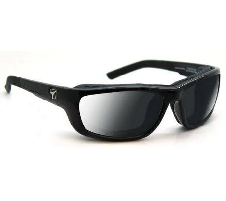 7 Eye Ventus Sunglasses, DARKshift Extra Dark Photochromic Lens, Glossy Black Fr