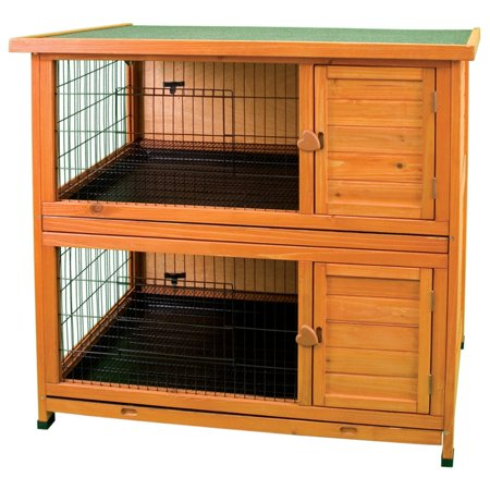 Premium Plus Hutch - Ware Premium Plus Double Decker Rabbit Hutch