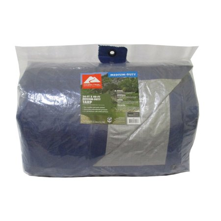 Ozark Trail Medium-Duty Tarpaulin, 24' x 40'
