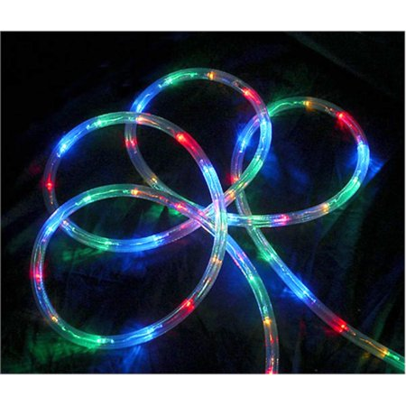 multi color led indoor outdoor christmas rope lights 2 bulb spacing