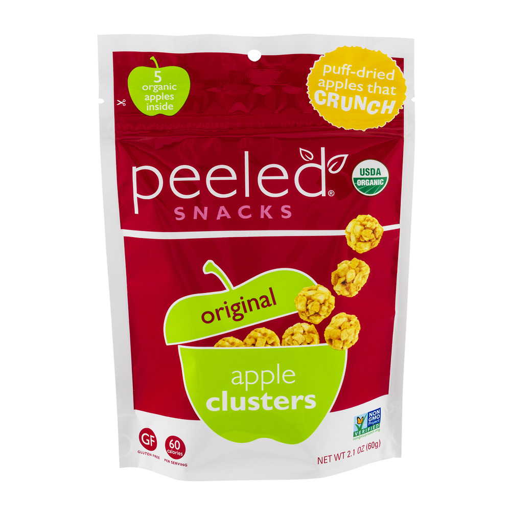 Peeled Snacks Apple Clusters Original, 2.1 OZ
