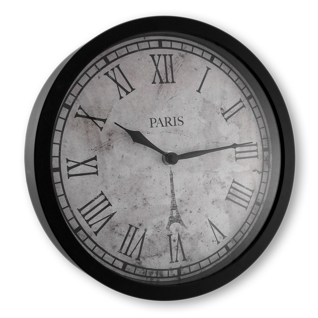 B+G Sales Inc. Paris Wall Clock with Roman Numerals 10 In.
