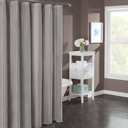 Stone Cottage Wamsutta Stripe Mink 54x78 Shower Curtain 54X78 Brown