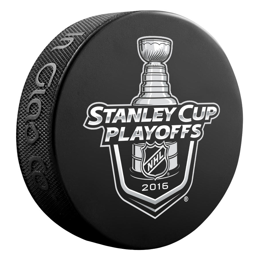 Sher-Wood 2016 NHL Playoff Hockey Puck - Black - No Size